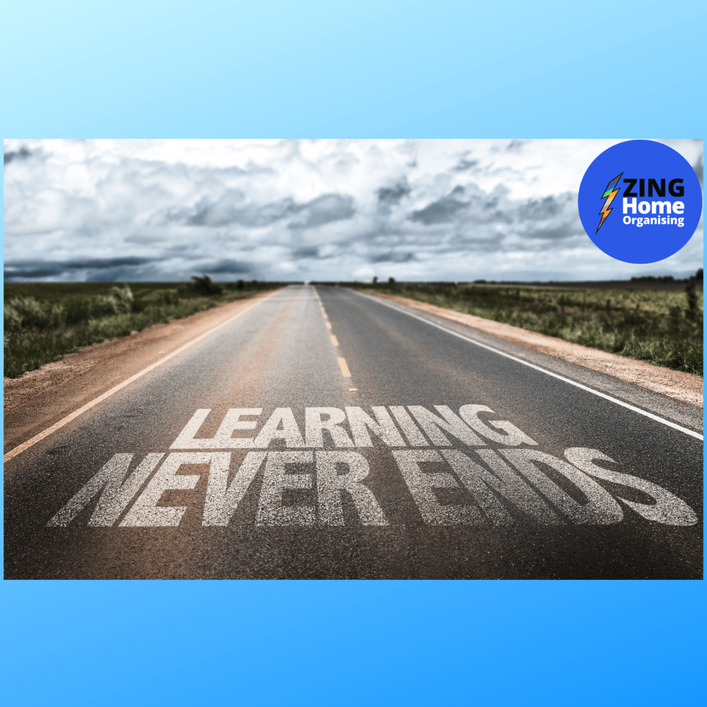 road with learning never ends